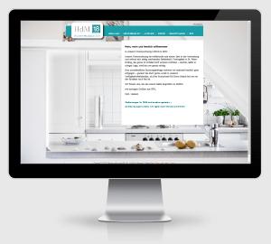 Webdesign Referenz: Ferienwohnung HdM18 in St. Peter-Ording / Nordsee