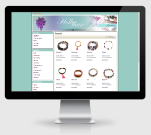 Webdesign Referenz: Hollyhux Jewels Muenchen