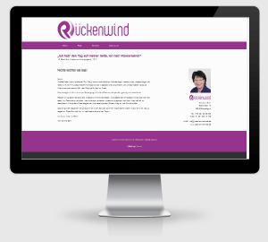 Webdesign Referenz: Kinesiologiepraxis Rueckenwind Nord in Süderlügum / Nordfriesland