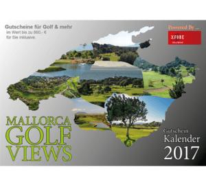 Print-Referenz: Erstellung des druckfertigen Wandkalenders MALLORCA GOLF VIEWS 2017
