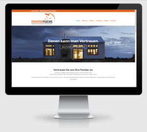 Webdesign Referenz: FensterFuchs in Rotenburg