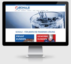 Webdesign Referenz: Schulz - Heizung, Wasser, Klimatechnik in Fredersdorf bei Berlin