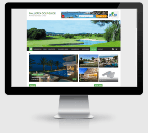Webdesign Referenz: Online-Magazin des Mallorca Golf Guide