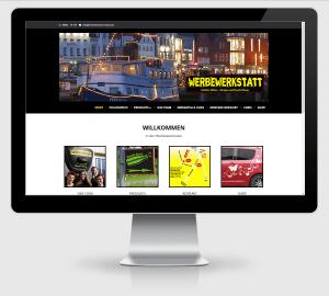 Webdesign Referenz: Werbewerkstatt Husum / Nordsee